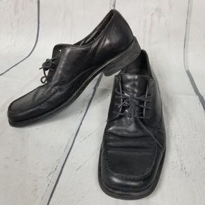 BOSTONIAN black lace up oxford shoes mens 10